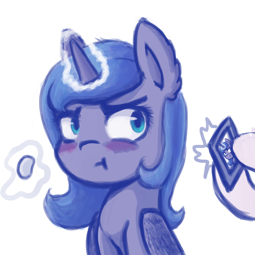 Don't eat more chips Luna, You'll get fat by AviAlexis25