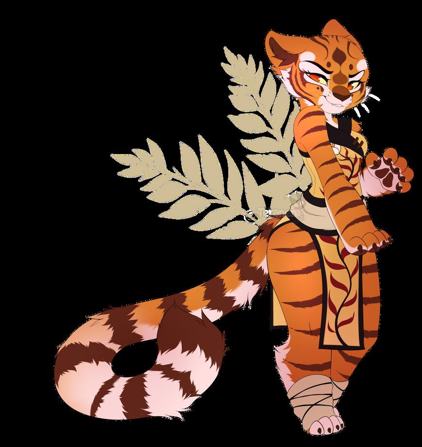 Master Tigress by teranen