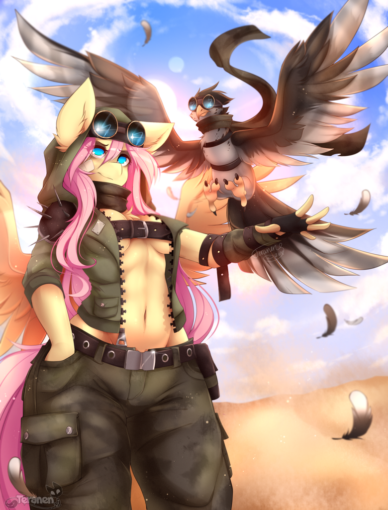 Desert warrior flutters by teranen