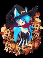 Halloween kitty by teranen