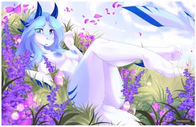 Easter Dragoness NSFW by teranen