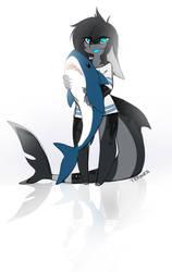 Tiny shark by teranen