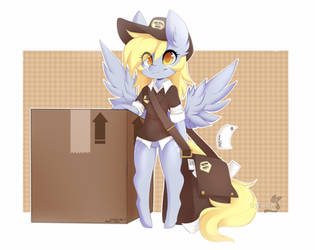 Derpy Delivery by teranen