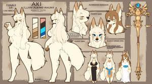Aki Reference Sheet