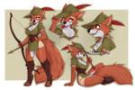 Robin Hood sketch page