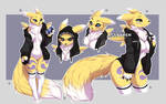 Renamon sketch sheet