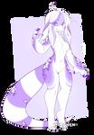 lila lizard design