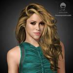 Shakira Digital work