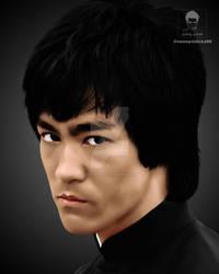 Bruce Lee Digital Work
