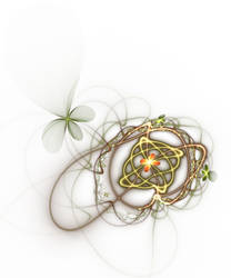 Flower Web 3D by FractalAngel-Stock