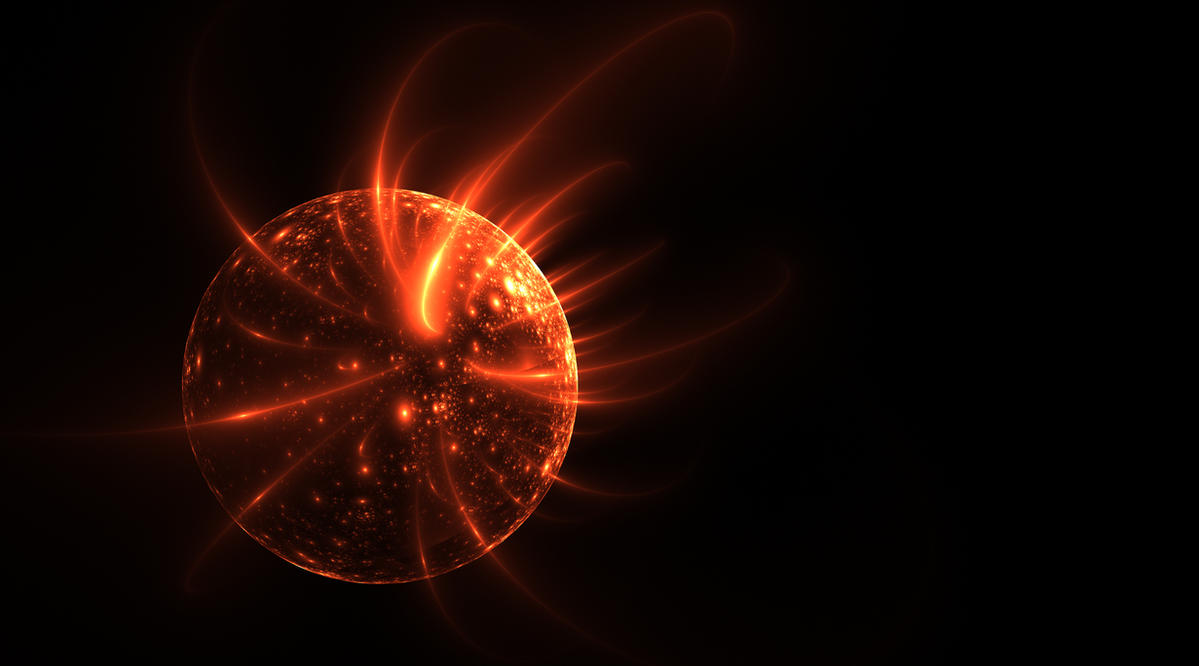 Solarflares-stock by FractalAngel-Stock