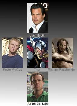 Thor casting call