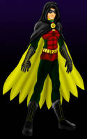 Teen Titans: Robin colored by Valor1387