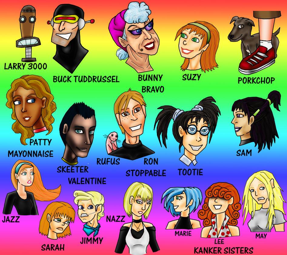 Cartoon Friends By Valor1387 On DeviantArt