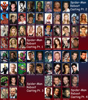 Spider-Man Reboot Casting Call by Valor1387