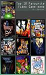 My Top Ten Video Games