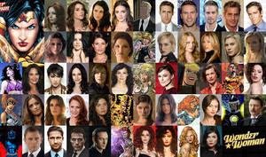 Wonder Woman cast potentials by Valor1387