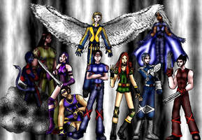 OLD - My X-Men by Valor1387
