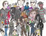 OLD - Horror mash-up poster by Valor1387