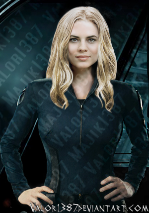 Hayley Atwell as Sharon Carter? :D by Valor1387