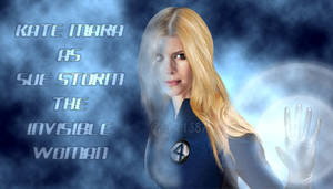 Kate Mara as the Invisible Woman by Valor1387