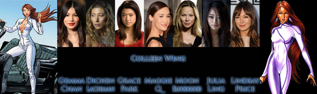 colleen wing mcu casting netflix thread call included series