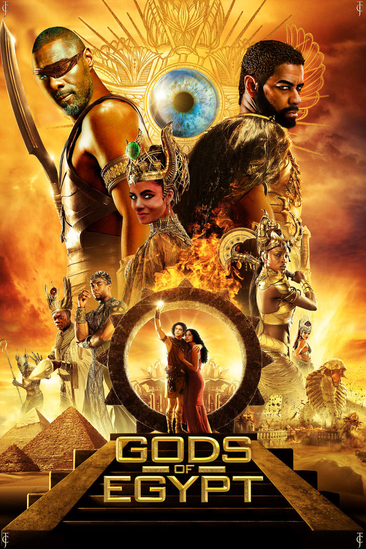 Gods of Egypt Recast by Valor1387
