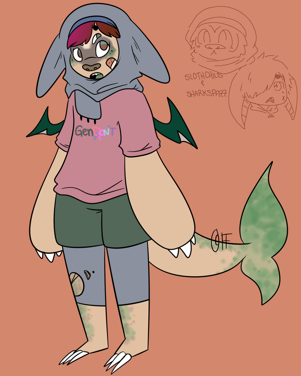 fusion sloth shark by fanface on fusion sloth shark by fanface