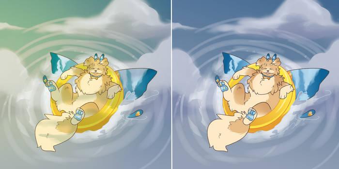 [Butterdogs Raffle] reflecting pool
