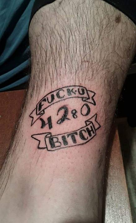 This Is My Second Tattoo Fuck U Bitch By Syco4loki On Deviantart Listen to tatto_u7 | soundcloud is an audio platform that lets you listen to what you love and share the sounds you create. second tattoo fuck u bitch