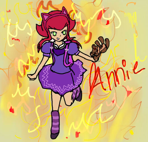 Annie LoL Fanart by August823