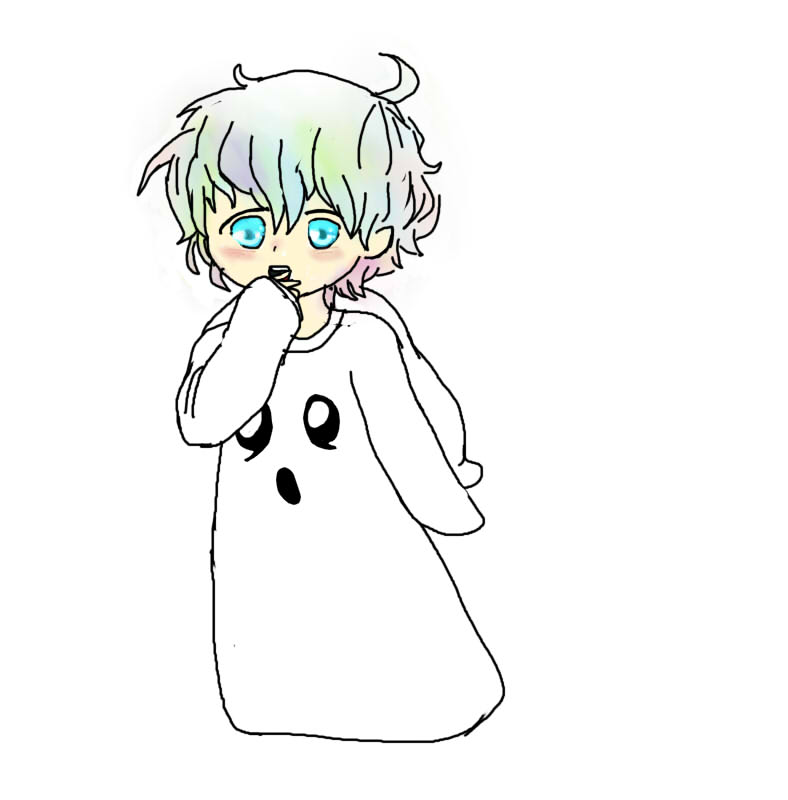 Mouse Ghost Costume 1  by August823