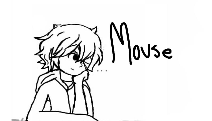 Mouse doodle by August823