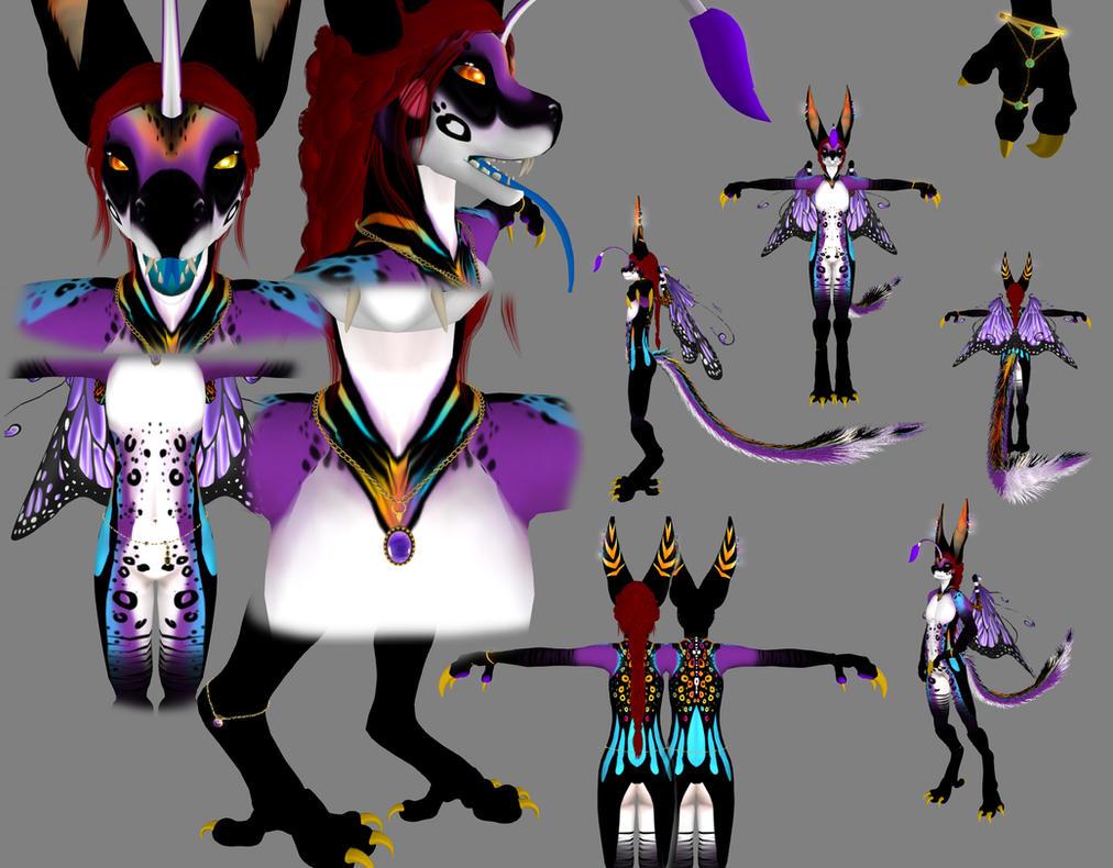 Pendelle Character Sheet by MistressVixen
