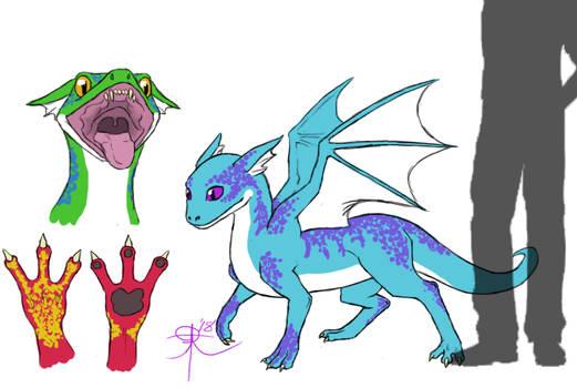 Magican Creature Challenge Day 3: Dragonette