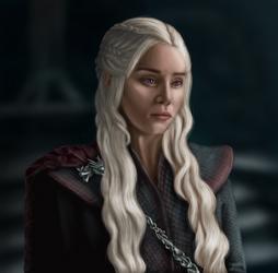 Daenerys Targaryen by VickyBoniek