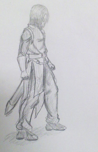 Recent doodle - Knight by ReevScythe