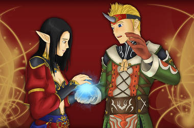 [Secret Santa: Daluna] It's just a scratch! by ReevScythe