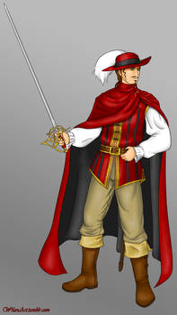 Tebaldo de la Rouge, the Red Mage