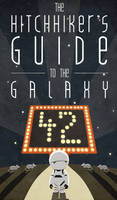 Hitchhiker's Guide Poster 1