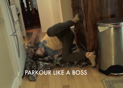 Pewdie Does Parkour by 2Awesome4U2