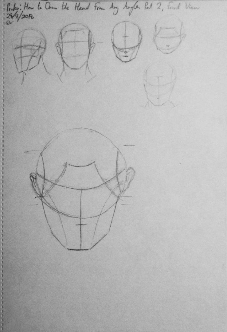 Proko: How to Draw the Head - Front View by StettafireZero