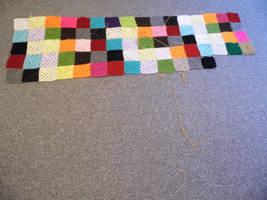 23/5/2020 - Crochet Patchwork Rainbow Blanket