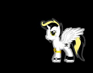 My who dat pony by Toxicthenobody