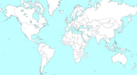 World Map by Toxicthenobody