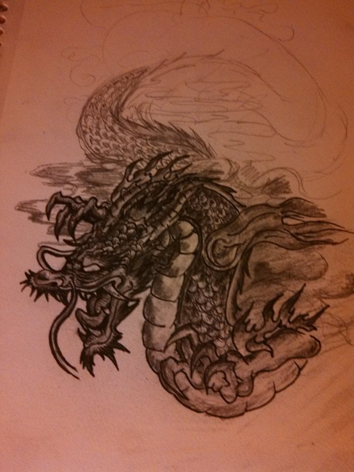 My first tattoo design by ChoMeiSter14
