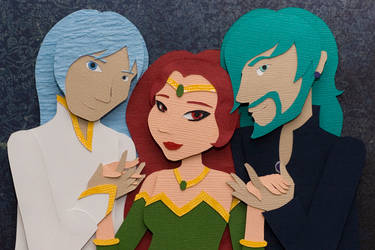 The Three of Us by PlaidCushion