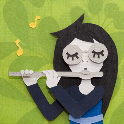 Play A Silly Flute Refrain by PlaidCushion