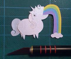 Unicorn by PlaidCushion