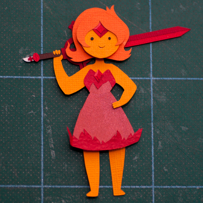 Flame Princess by PlaidCushion